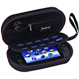 Smatree P100 Traveling and Home Storing Case (7.8x 4.4x 2.4 inches) with Zippered Mesh Pocket for PS Vita , PS Vita Slim and Accessories