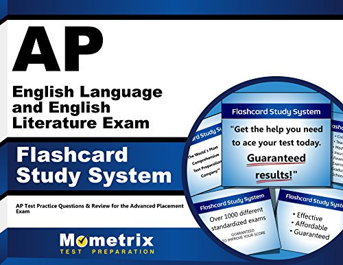 AP English Language and English Literature Exam Flashcard Study System: AP Test Practice Questions & Review for the Advanced Placement Exam (Cards) by Mometrix Media LLC