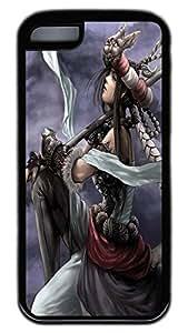 iPhone 5C Case,Customize Ultra Slim World Of Warcraft Sn06 Soft Rubber TPU Black Case Bumper Cover for iPhone 5C