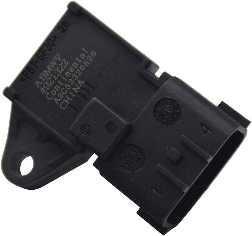 HandyTek 4921322 Air Pressure Sensor Map Pressure Sensor for Dodge Ram A2C533266 5WK96801