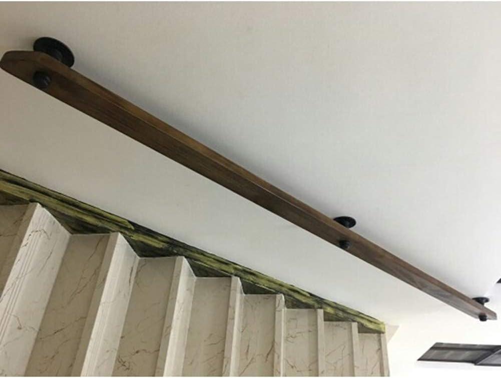 An Der Wand Montierten Treppengel/änder Wei/ße Treppe Handlauf Aus Holz Mit Schmiedeeisernen Halterung 30-300cm AAA++++ /Ältere Menschen Und Kindern Im Innen- Und Au/ßen Anti-Rutsch-Track-Unterst/ützung