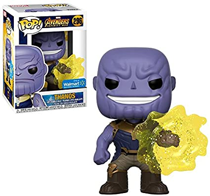 Funko Pop Avengers Infinity War Thanos Walmart Exclusive