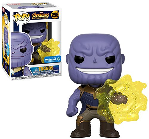 Funko POP! Marvel: EXCLUSIVE Avengers Infinity War Movie - Thanos Using Infinity Gauntlet Collectible Figure: Amazon.es: Juguetes y juegos