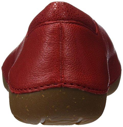 Rojo Red Leather Bailarinas Clarks Mujer 261237694 AqwtnfPWR
