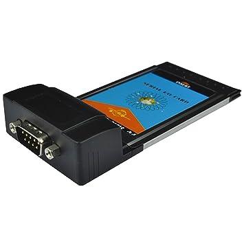 gaolx portátil PCMCIA 54 mm a RS232 Puerto Serial I/O tarjeta, DB 9PIN 32 bit CardBus: Amazon.es: Electrónica