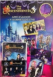 Panini Pack Lanzamiento Los Descendientes 3 + 2 Sobres: Amazon.es: Juguetes y juegos