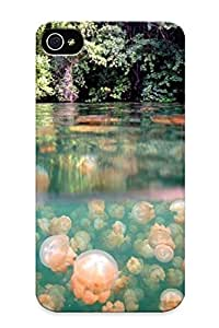 Appearance Snap-on Case Designed For Iphone 4/4s- Stone Underwater(best Gifts For Lovers)
