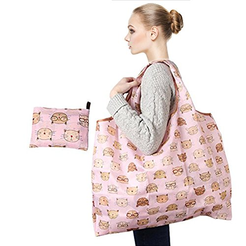 Cute Insulated Grocery Bags - 1