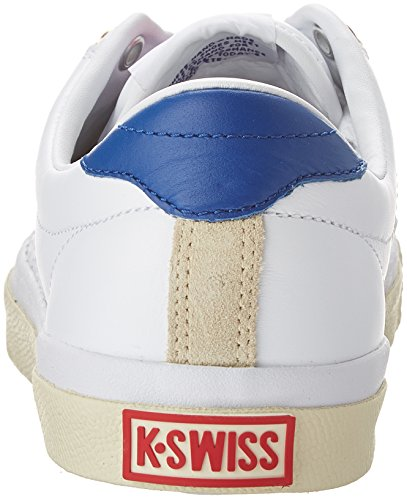K-swiss classic Zapatilla irvine og 50th/wht/clscblu/rbnred q1 WHT/CLSCBLU/RBNRED