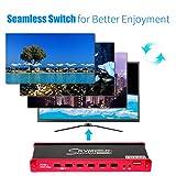 KVM Switch HDMI Multi-Viewer 4x1 Seamless Switch
