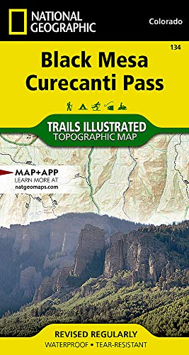 Black Mesa, Curecanti Pass (National Geographic Trails Illustrated Map) (Fishing The Black Canyon Of The Gunnison)