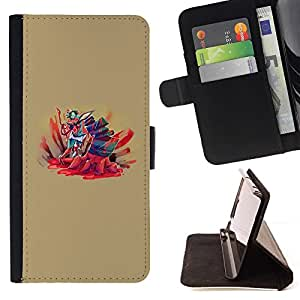 Momo Phone Case / Flip Funda de Cuero Case Cover - Fumetto Splatter - Sony Xperia Z2 D6502