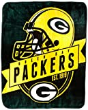 """The Northwest Company Officially Licensed NFL Grand Stand Plush Raschel Throw, 50"""" x 60"""""""