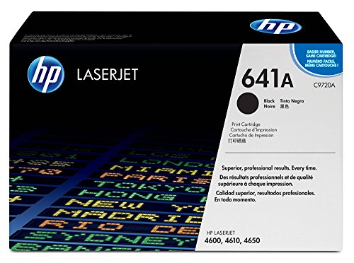 HP 641A (C9720A) Black Toner Cartridge for