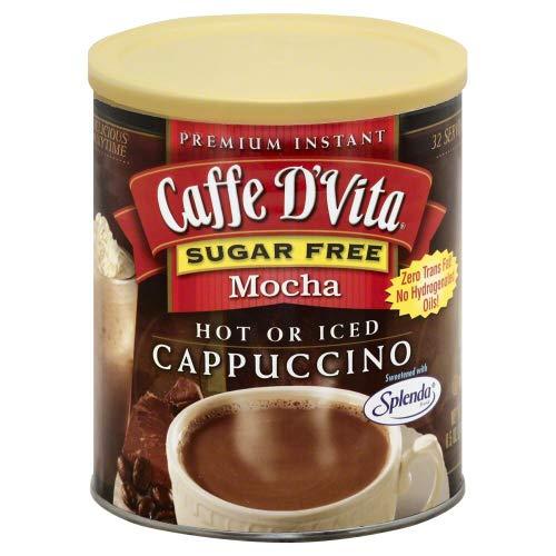 Caffe D'Vita Sugar Free Mocha Instant Cappuccino - 8.5 oz by Caffe D'Vita