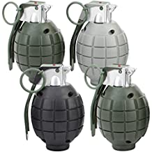 Lot of 4 Kids Toy B/o Grenades for Pretend Play