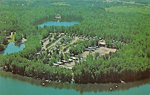 RV Parks/Campgrounds/Trailer Parks The Olcott's Hiawatha Trailer Resort Woodruff, Wisconsin, USA Unused (Park Woodruff)