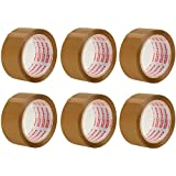 Packatape — 6 Rolls 1.88 Inches x 72.2 Yards Brown Packaging Tape for Parcels and Boxes. This 6 roll pack of Heavy Duty Brown Packing Tape Provides a Strong, Secure and Sticky Seal for your Boxes