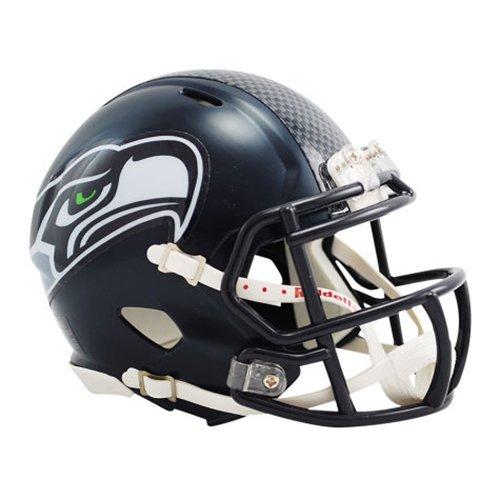 (Seattle Seahawks Replica Speed Mini Helmet by Riddell)