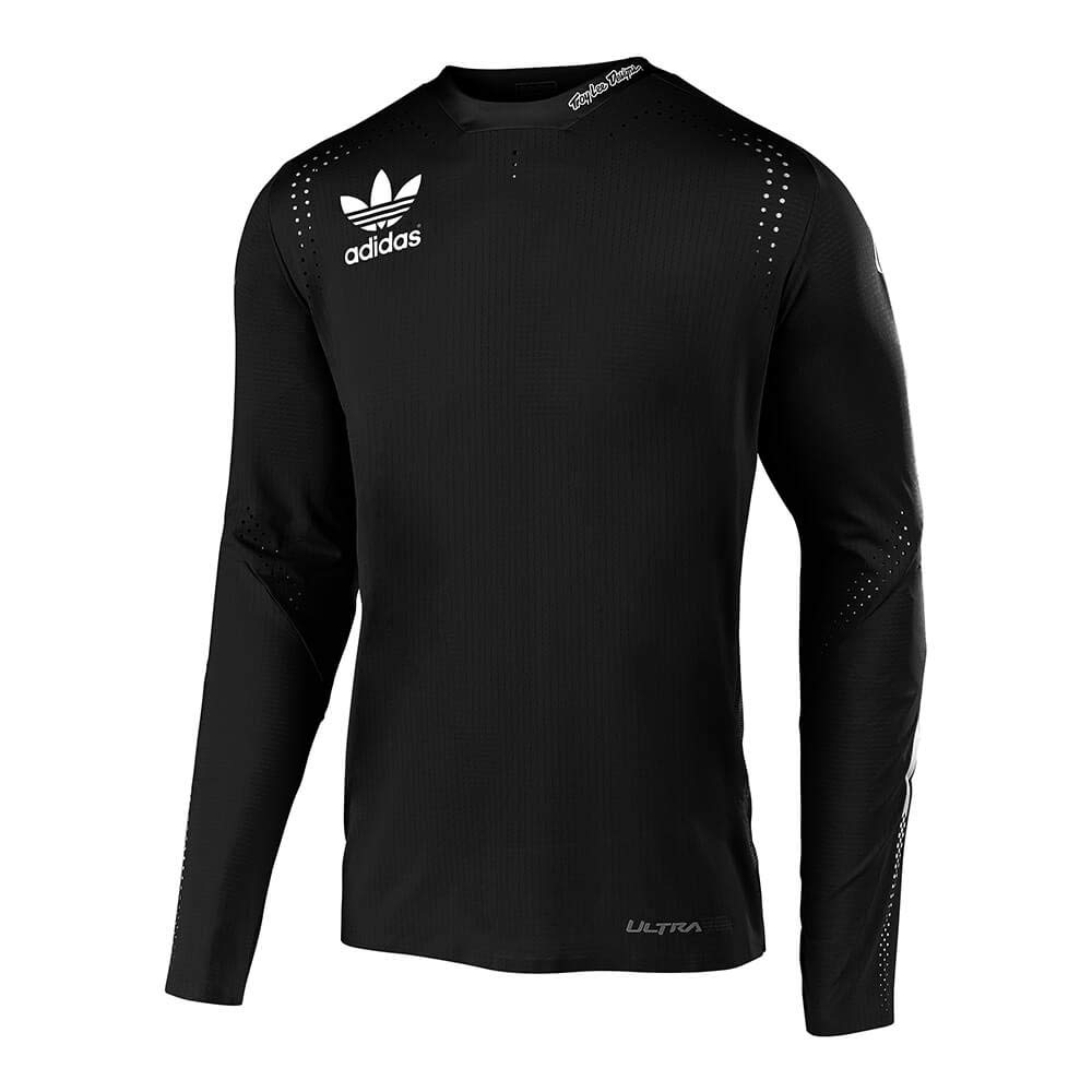 Troy Lee Designs Ultra Limited Team Edition Adidas Team Long Sleeve Mens Off-Road Motorcycle Jersey X-Large, Black