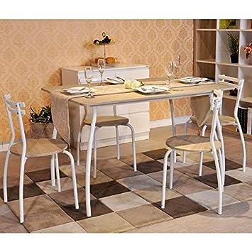 Tavolo Cucina Faggio.Innovareds Set Da Pranzo Con Tavolo E 4 Sedie Set Da Cucina In Faggio