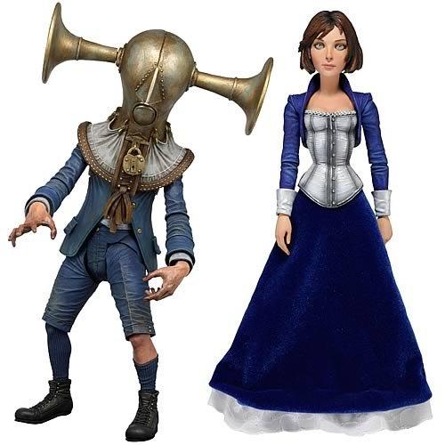 Neca Bioshock Infinite Series 1 Set of 2 Action Figures