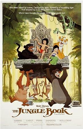 Hot THE JUNGLE BOOK Classic Movie Deco Phil Harris New Art Poster 24x36 T-1208