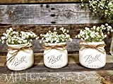 simply beautiful mason jar set. Mothers day, birthday, graduation, housewarming, new mom, wedding. For Sale
