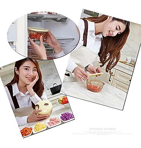Anokay Nuevo mini Mezclador Manual de Cortador de Alimentos ...