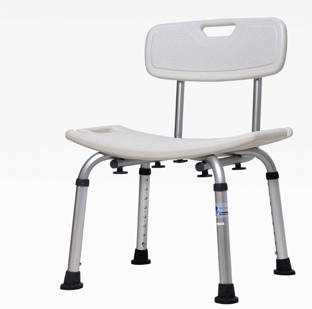 DGF バス椅子、バス妊婦ノンスリップスツール - アルミ合金(高さ調節可能) (色 : A)  A B0119FVEU4