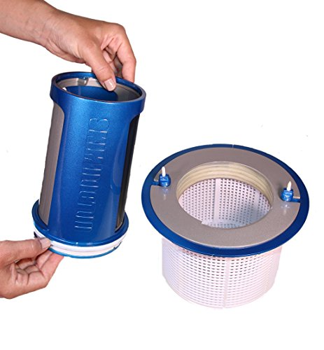 SkimDoctor 2.0 For InGround Pools; Fits Hayward, Pentair and Other Pool Skimmer Baskets