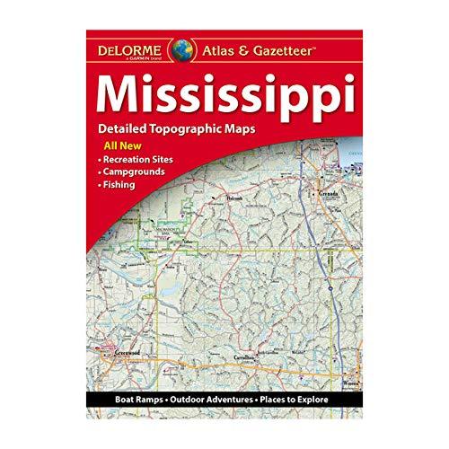 DeLorme® Mississippi Atlas & Gazetteer