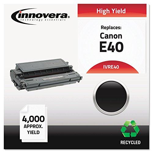 IVRE40 E40 Compatible, Remanufactured, 1491A002AA (E40) Toner, 4000 Yield, Black ()