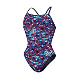 Speedo 8191500 Youth Nano Fracture Flyback Swimsuit