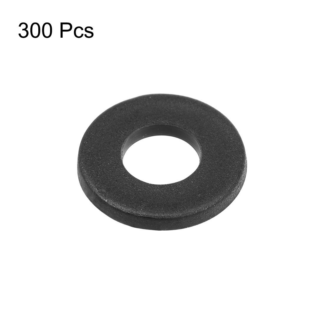 Nylon Flat washers for M4 Screw Bolt 9 mm OD 1 mm Thick 300 Pieces