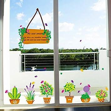 Etiqueta De La Pared Sala De Estar Del Dormitorio Verde Muebles De Jardín De Infantes Decoración
