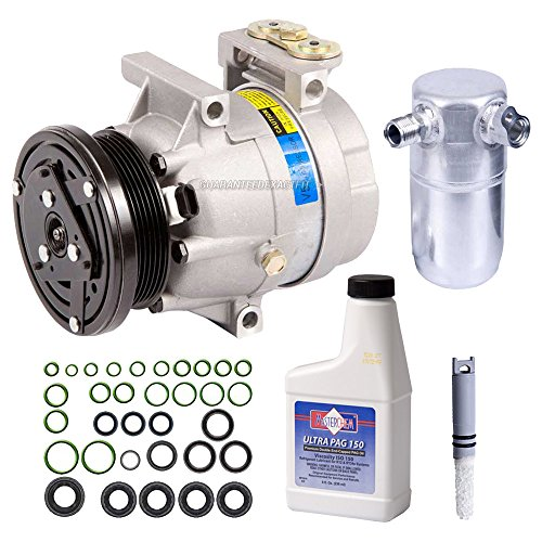 2003 Buick Century A/c - New AC Compressor & Clutch With Complete A/C Repair Kit For Buick Century - BuyAutoParts 60-81330RK New