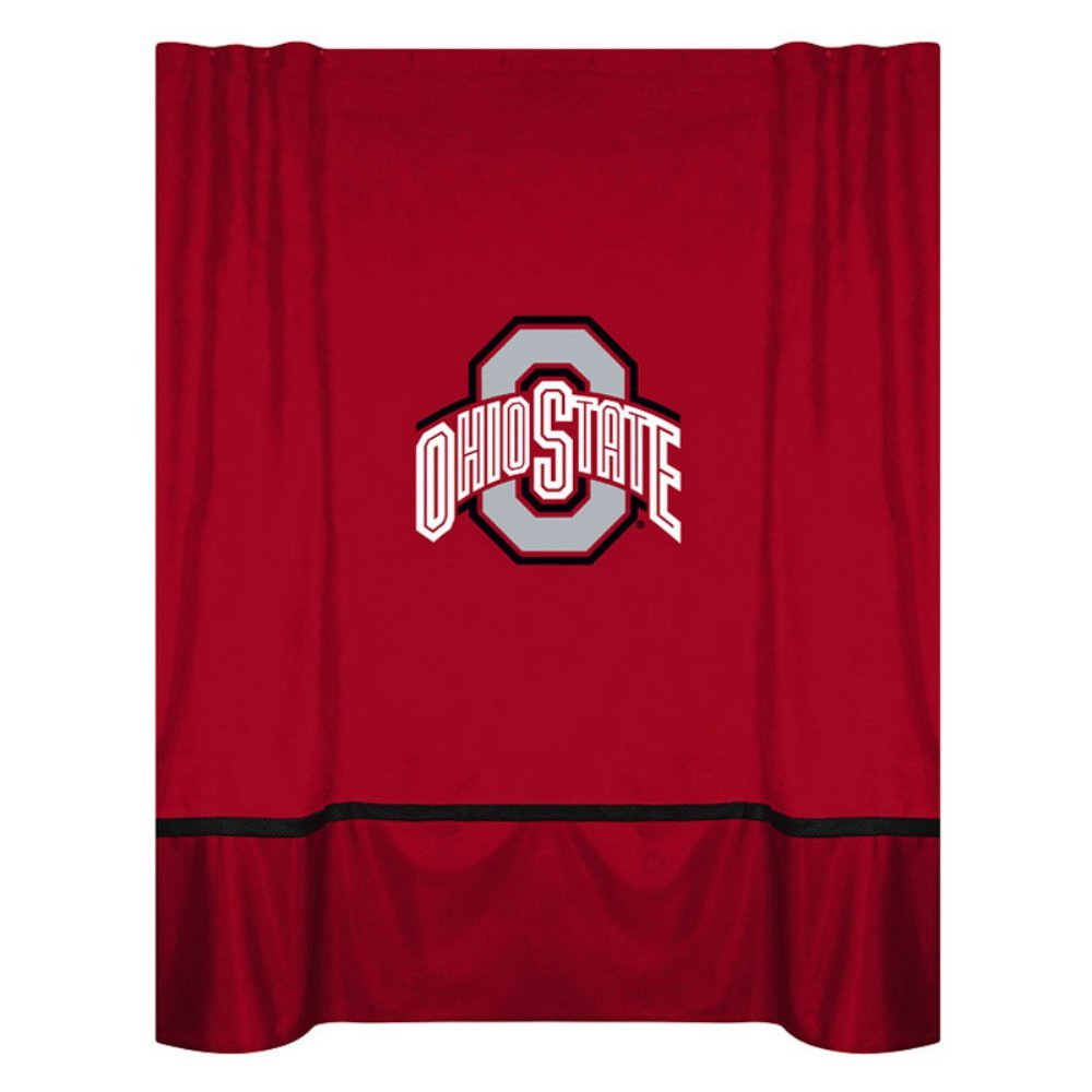 Sports Coverage College Shower Curtain - Ohio State