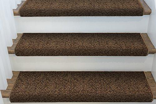 Single Windsor Adhesive Bullnose Carpet Stair Tread - 27
