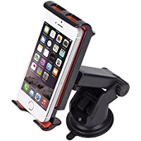 NOOX Car Mount Universal Phone Holder for iPhone 7s 6s Plus 6s 5s 5c Samsung Galaxy S8 Edge S7 S6 Note 5 Huawei Phones