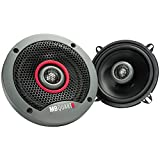 Maxxsonics FKB113 FKB113 MB Quart Formula 5.25 Inch 2 Way Coaxial Car Speakers, Gray, 5.25 inches