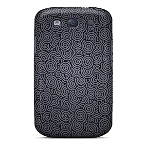 New Style Obliqcases Little Swirls Premium Tpu Cover Case For Galaxy S3