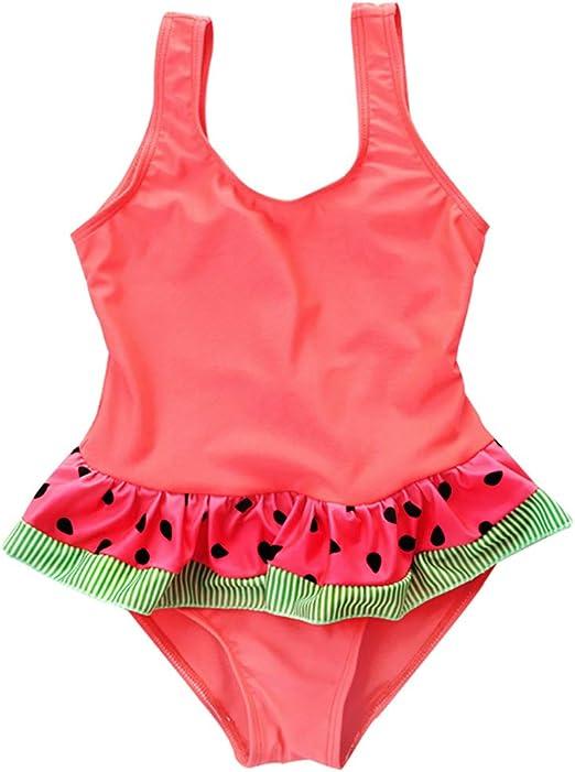 Princess Kids Baby Girls Halter Cute Swimwear Swimsuit Bikini Set Bathing Suit