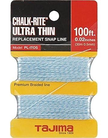 Tajima PL-ITOS Chalk-Rite Premium Grade Ultra Thin Nylon Line, 0.5 mm
