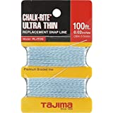 Tajima PL-ITOS Chalk-Rite Premium Grade Ultra Thin Nylon Line, 0.5 mm Thick by 100-Feet