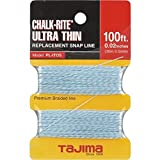 Tajima PL-ITOS Chalk-Rite Premium Grade Ultra Thin Nylon Line, 0.5 mm Thick by 100-Feet