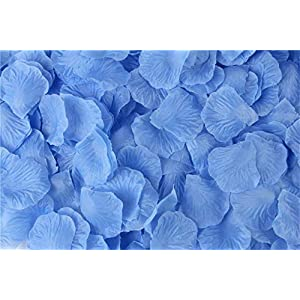 HJQ's store 2000 Pieces Silk Rose Petals Artificial Flower Petals for Wedding and The Any Other Ocasions 88