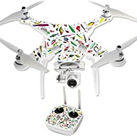 Skin For DJI Phantom 3 Professional – Bright Lures | MightySkins Protective, Durable, and Unique Vinyl Decal wrap cover | Easy To Apply, Remove, and Change Styles | Made in the USA