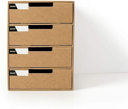 Archivo Archivo Bastidores de papel A4 de escritorio Caja de ...