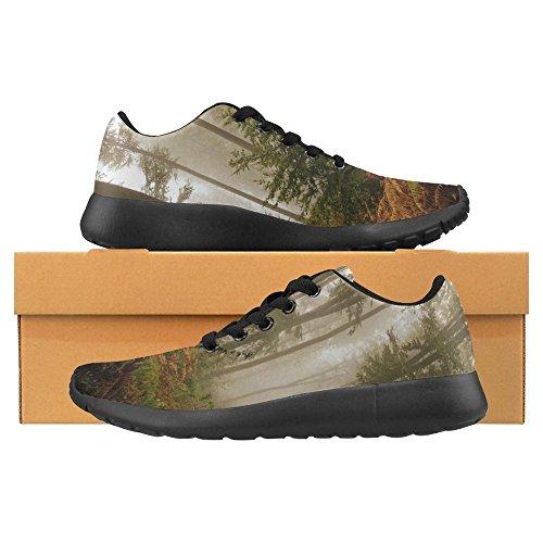 Interessante Donna Da Jogging Da Corsa Sneaker Leggero Go Easy Walking Casual Comfort Scarpe Da Corsa Foresta Abbattuta Nella Stagione Autunnale Multi 1